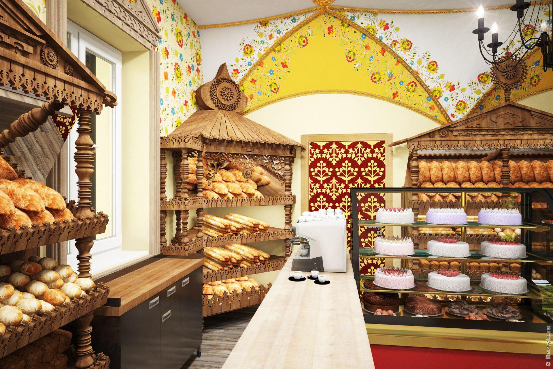 Картинки в пекарню